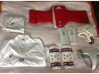 Taekwondo sporting gear