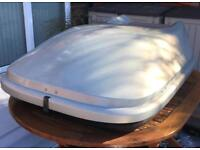 Roof box Halfords 470l