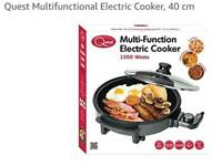 As New - Quest Multi Function Electric Frypan - 40cm