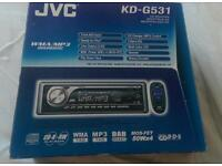 JVC car radio/CD/IPOD player