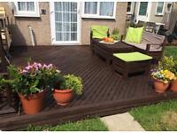 affordable garden decking, garden design, maintenance