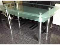 Dining table, two layered