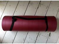 Thick Purple Yoga Mat