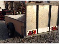 Large Houghton car trailer