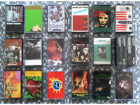 MUSIC CASSETTES WANTED! CASH PAID FOR COLLECTIONS