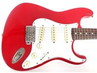 LIMITED TIME OFFER!!! <<<- VINTAGE FENDER STRATOCASTER STRAT by SQUIER MADE IN JAPAN - MIJ ->>>