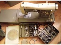 Necchi Semi Industrial Supernova Ultra Sewing Machine With Original Cams And Accessories