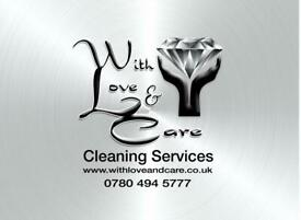 With Love & Care Cleaning Services
