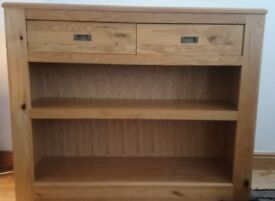 £100 Beautiful Solid Oak Sideboard with draws