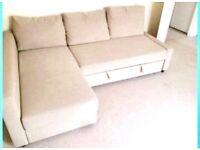 Sofa bed Ikea Frihiten corner sofa bed good condition lovely comfortable 3-4 seater.