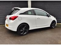 2015 VAUXHALL CORSA 1.2 LIMITED EDITION 3 DOOR WHITE NOT CLIO ASTRA FIESTA MINI A1 VW POLO IBIZA
