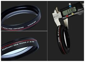 55mm Ultra Slim Wide Angle Filter Lens for Nikon Canon DSLR Camera