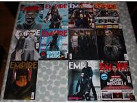 Empire movie magazine 2011-2016