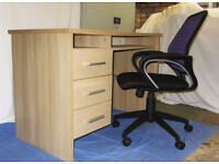 Desk & Chair - Perfect for Your Home Study