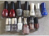 Large Bundle of 16 Nail Polishes - China Glaze, OPI, Essence & More