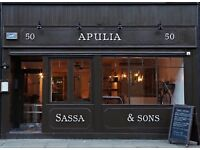 Experienced PIZZA CHEF Full Time for italian restaurant in Farringdon