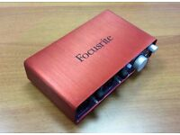 Focusrite Scarlett 2i2 audio recording interface
