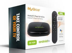 MyGica ATV 495 Max Google Certified AndroidTV STB Streaming 4K HD Media Player box ATV495Max Official Android Chromecast