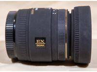 Sigma 50mm F/2.8 Macro EX DG Lens For Canon
