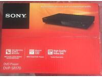 Sony DVD player brand new