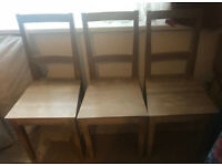 L@@k Great! SOLID Wood, STURDY Chairs ONLY £15! each!