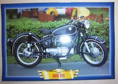BMW R26 250 SINGLE VINTAGE CLASSIC MOTORCYCLE BIKE 1950'S PICTURE PRINT 1956 for sale  Bristol