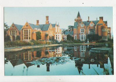 Bagshot Park Reflections In The Lily Pond Postcard 049b