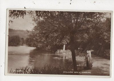 Willow Walk Dorking 1941 RP Postcard 960a