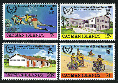 Cayman 474-477, MNH. Intl. Year of the Disabled, 1981
