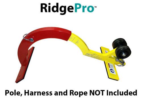 RidgePro Roof Hook Ridge Peak Anchor w/ Wheels First Man Up Last Man Down