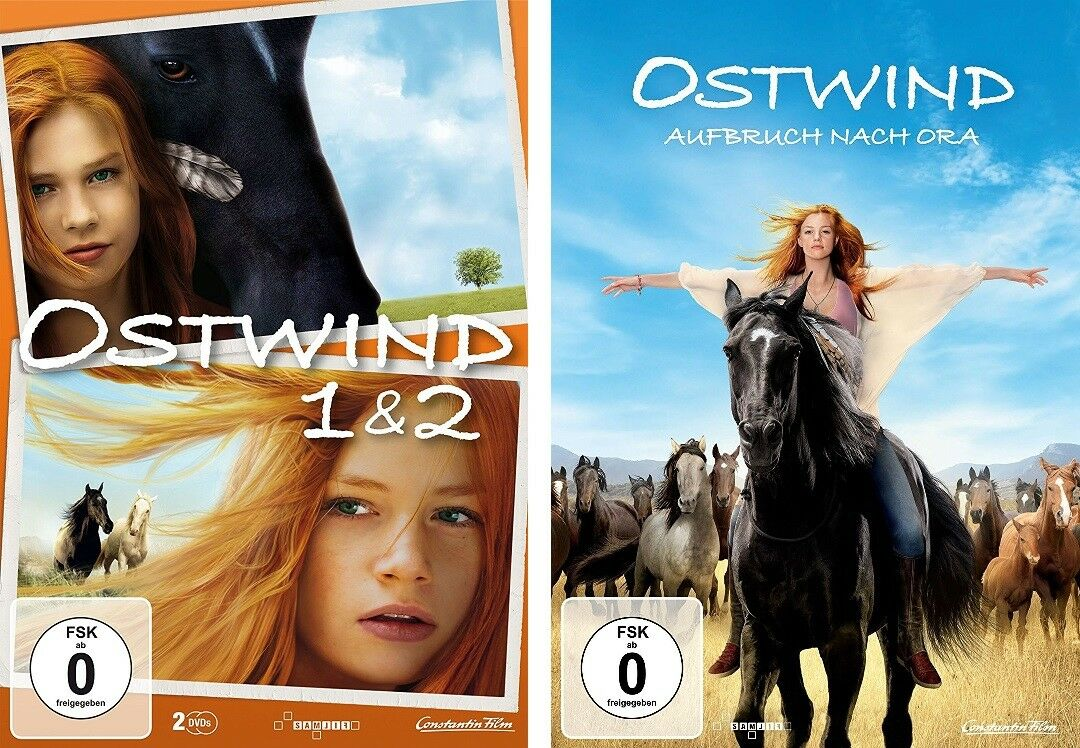 3 DVDs * OSTWIND 1 & 2 + 3 Aufbruch nach Ora   IM SET - Hanna Binke # NEU OVP +