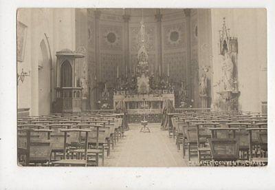 Cenacle Convent Chapel Vintage RP Postcard 960a