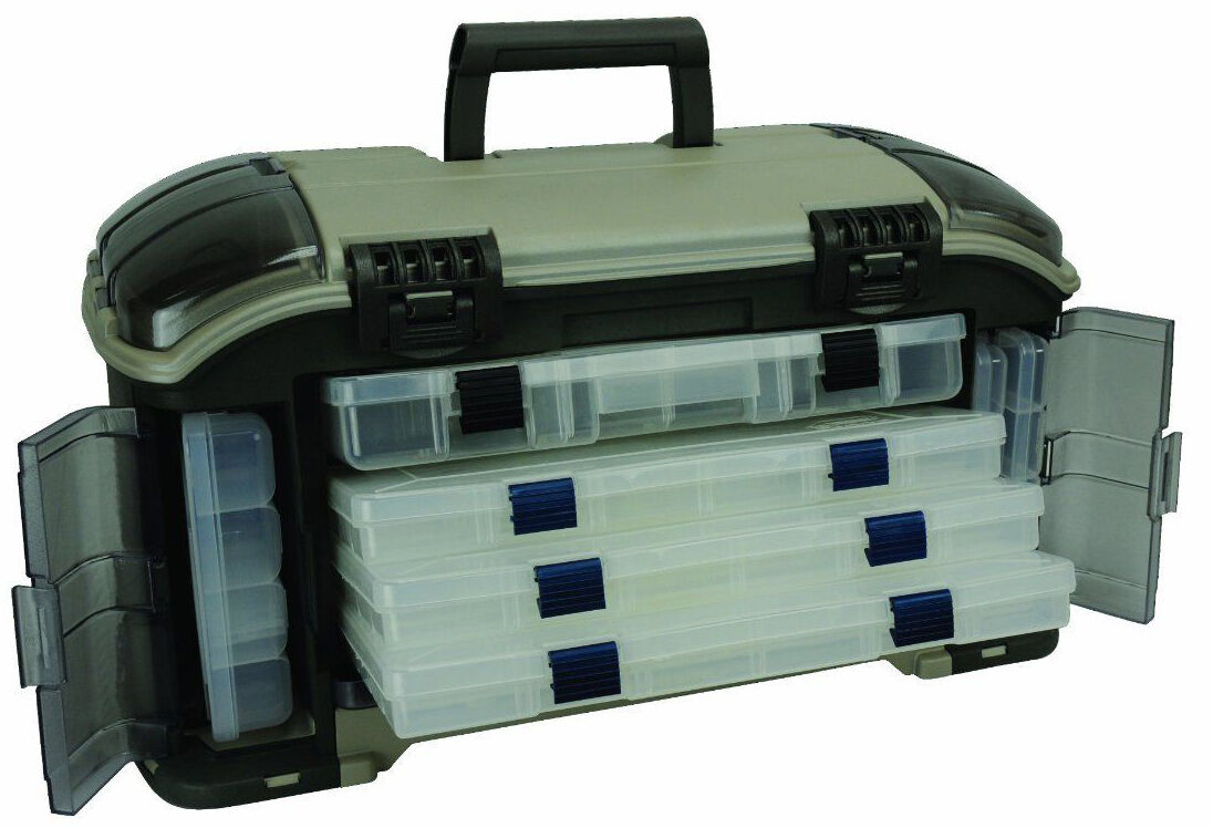 Top 10 tackle boxes ebay for Plano fishing tackle boxes