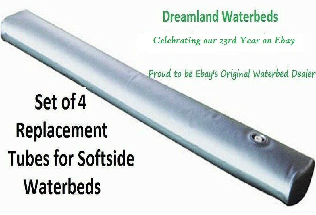"Set of 4 Boyd Softside Waterbed Replacement Tubes-71"" Length"