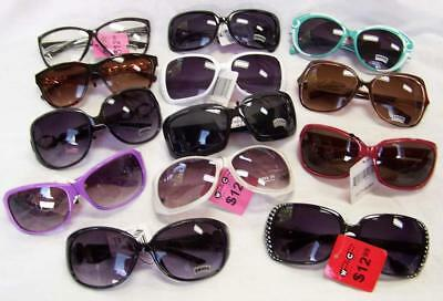 12 WINDY CITY LADIES BULK LOT SUNGLASSES glasses CHEAP PRICE wholesale #SUN313