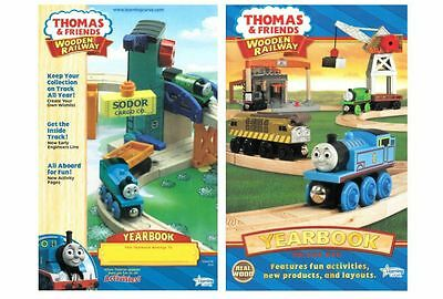 THOMAS the TANK WOODEN RAILWAY - 2 DIFFERENT YEARBOOKS 2010, 2011 **NEW**