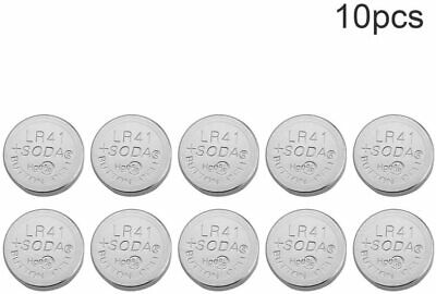 10x PILAS DE BOTON AG3 LR41 LR736 392A SR41SW CX41 SR736 SR41...