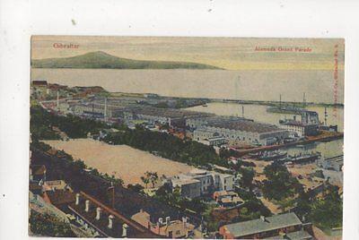 Gibraltar Alamede Grand Parade Vintage Postcard Ferrary 188b
