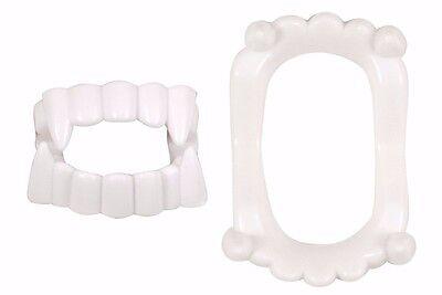 1 x Kids White Dracula Teeth Vampire Fake Fangs Fancy Dress New Kids (Kids Vampire Fangs)