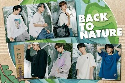 [Official] BTS FILA 2021 Project 7 : BACK TO NATURE POSTCARD
