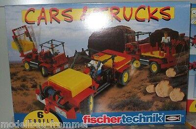 Fischertechnik 34950 Advanced Cars & Trucks Konstruktionsbaukasten