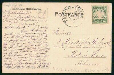 Mayfairstamps Germany Tabor Iglau to Bohmen Card wwo_50729