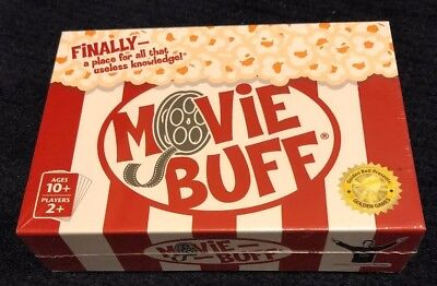 Movie Buff: The World's Greatest Movie Trivia Card Game~NEW