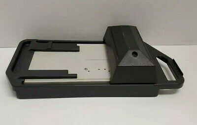 Addressograph Bartizan Manual Credit Card Imprinter Slider Used
