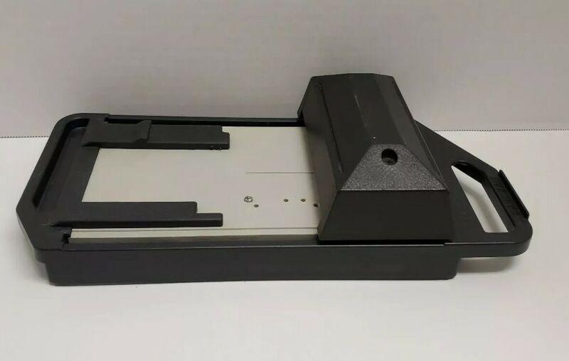 Addressograph Bartizan Manual Credit Card Imprinter Slider Used