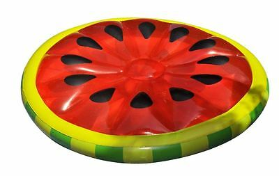 Swimline Inflatable Watermelon Slice Swimming Pool Lake Ocean Island Float Raft
