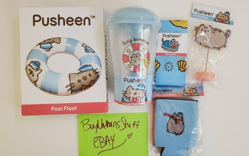 Pusheen Summer 2019 Pusheen Box Sailor Lot ALL NEW