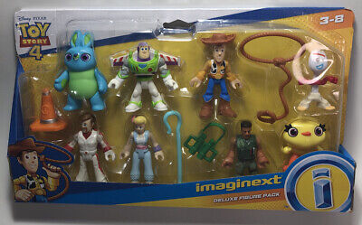 Imaginext Disney Toy Story 4 Deluxe Figure Pack Factory Sealed New
