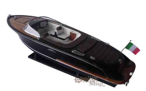 "Riva Iseo Handcrafted Model 32"" ready for display"