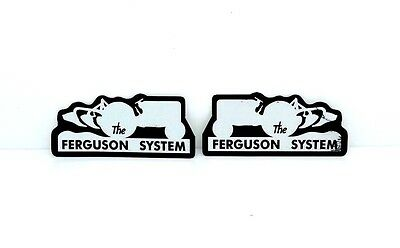 The Ferguson System Decals Fit Massey Ferguson 35 65 135 Tractors. High Quality